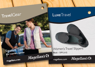 Magellan's Packaging and Tags