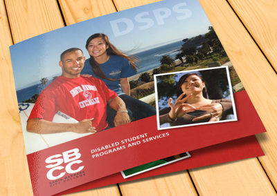 SBCC Disabled Student Programs and Services Brochure