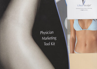 UltraSculpt Logo and Physician Marketing Tool Kit