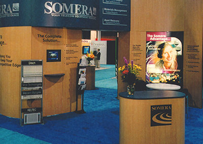 Somera Trade Show Booth and Advertising