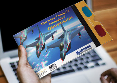 Condor Engineering 3D Glasses and Flyer Handout
